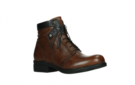 wolky lace up boots 02628 center wp 20430 cognac leather_3