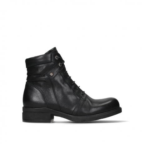 wolky ankle boots 02628 center wp 20000 black leather