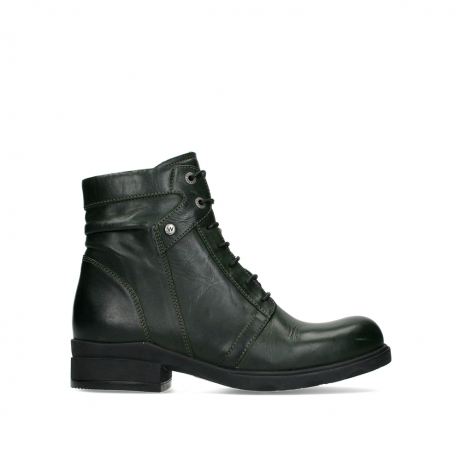 wolky ankle boots 02629 center xw 30730 forest leather