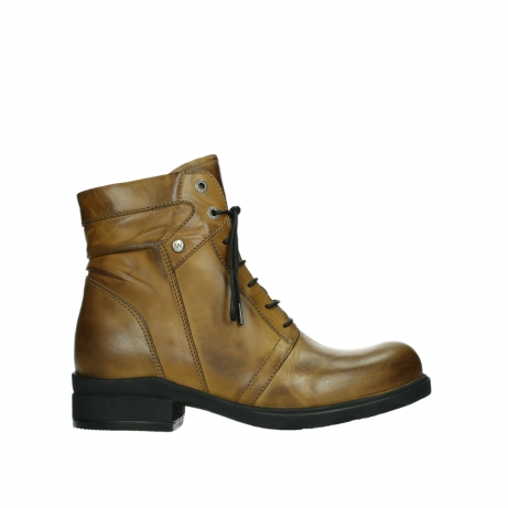 wolky lace up boots 02629 center xw 30925 dark ocher leather