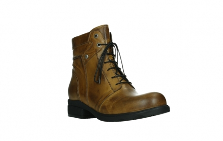 wolky lace up boots 02629 center xw 30925 dark ocher leather_4