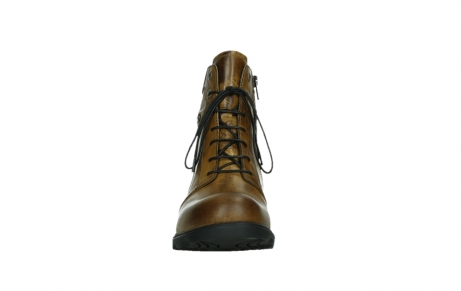 wolky lace up boots 02629 center xw 30925 dark ocher leather_7