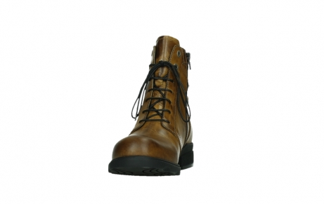 wolky lace up boots 02629 center xw 30925 dark ocher leather_8