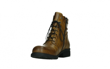 wolky lace up boots 02629 center xw 30925 dark ocher leather_9
