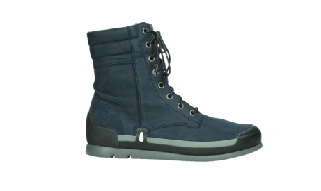 wolky lace up boots 02775 adams 13800 blue nubuckleather_1
