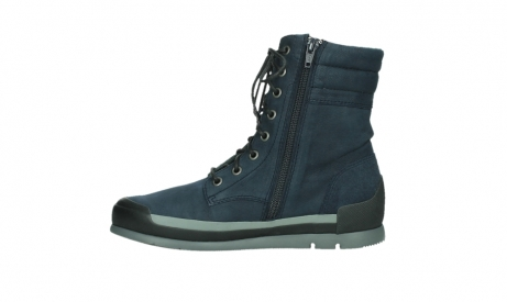 wolky lace up boots 02775 adams 13800 blue nubuckleather_13