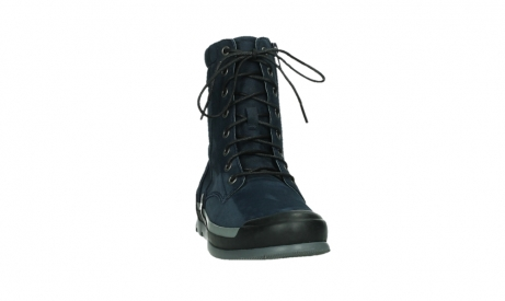 wolky lace up boots 02775 adams 13800 blue nubuckleather_6