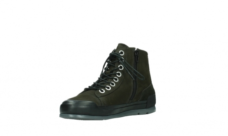 wolky lace up boots 02777 watson 13770 13770 gray brown nubuck_10
