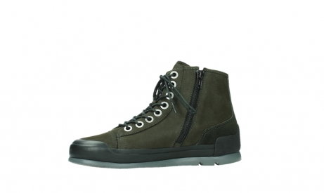wolky lace up boots 02777 watson 13770 13770 gray brown nubuck_12