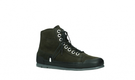 wolky lace up boots 02777 watson 13770 13770 gray brown nubuck_3