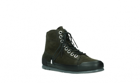 wolky lace up boots 02777 watson 13770 13770 gray brown nubuck_4