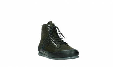 wolky lace up boots 02777 watson 13770 13770 gray brown nubuck_5