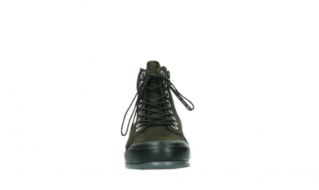wolky lace up boots 02777 watson 13770 13770 gray brown nubuck_7