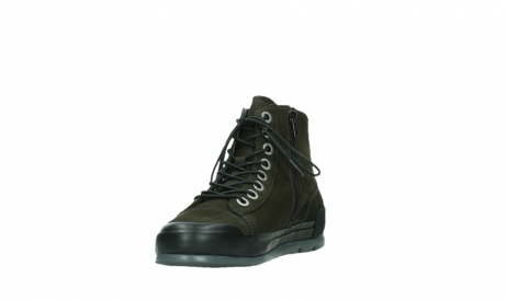 wolky lace up boots 02777 watson 13770 13770 gray brown nubuck_9