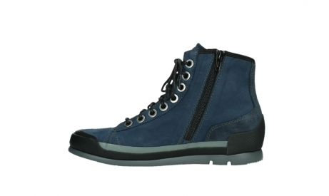 wolky lace up boots 02777 watson 13800 blue nubuckleather_13
