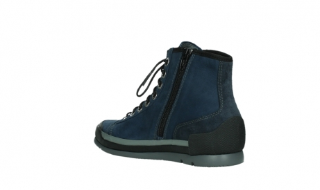 wolky lace up boots 02777 watson 13800 blue nubuckleather_16