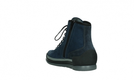 wolky lace up boots 02777 watson 13800 blue nubuckleather_17