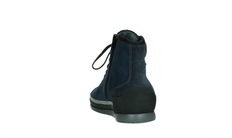 wolky lace up boots 02777 watson 13800 blue nubuckleather_18
