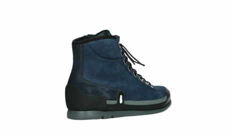 wolky lace up boots 02777 watson 13800 blue nubuckleather_22