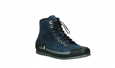 wolky lace up boots 02777 watson 13800 blue nubuckleather_4