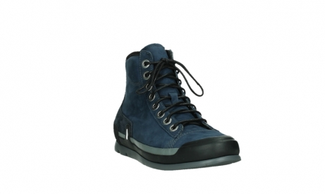 wolky lace up boots 02777 watson 13800 blue nubuckleather_5