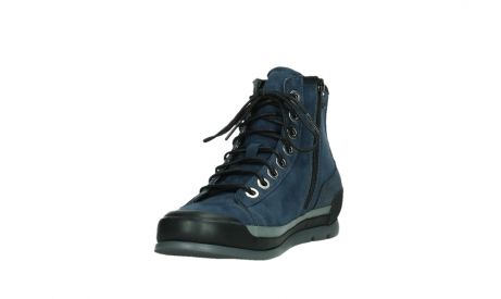 wolky lace up boots 02777 watson 13800 blue nubuckleather_9