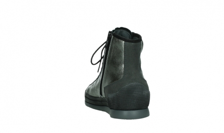 wolky lace up boots 02777 watson 30280 metal leather_18