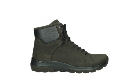 wolky lace up boots 03026 ambient 11305 dark brown nubuck_1