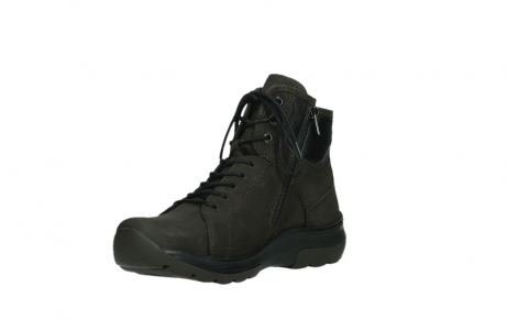 wolky lace up boots 03026 ambient 11305 dark brown nubuck_10