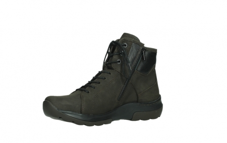 wolky lace up boots 03026 ambient 11305 dark brown nubuck_11