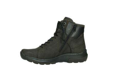 wolky lace up boots 03026 ambient 11305 dark brown nubuck_12