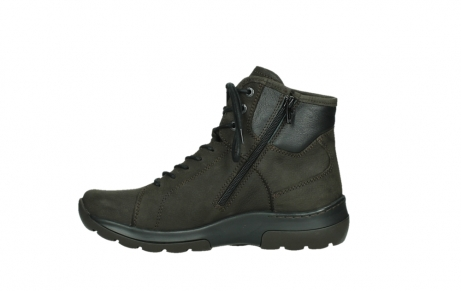 wolky lace up boots 03026 ambient 11305 dark brown nubuck_13