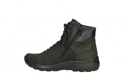 wolky lace up boots 03026 ambient 11305 dark brown nubuck_14