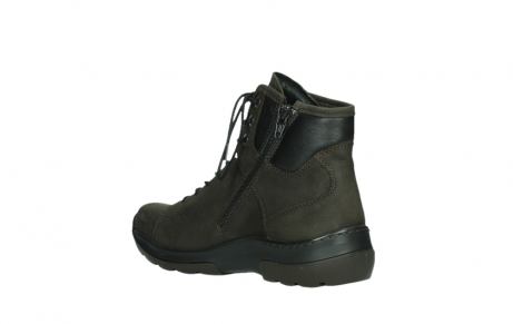 wolky lace up boots 03026 ambient 11305 dark brown nubuck_16