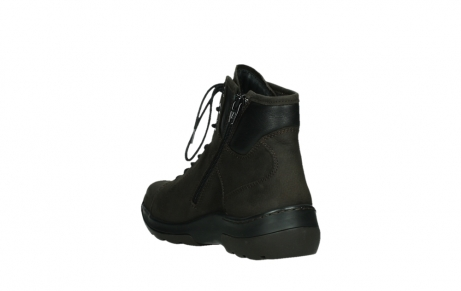 wolky lace up boots 03026 ambient 11305 dark brown nubuck_17