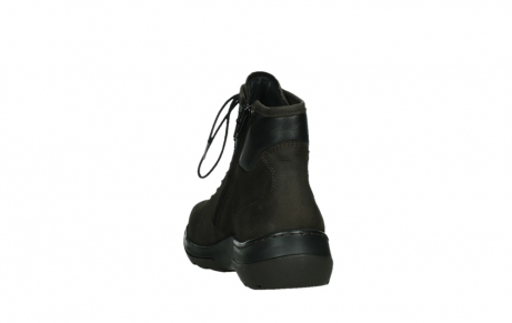 wolky lace up boots 03026 ambient 11305 dark brown nubuck_18