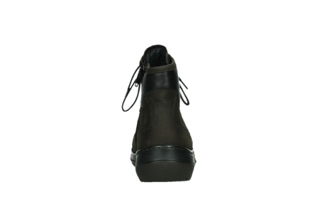 wolky lace up boots 03026 ambient 11305 dark brown nubuck_19