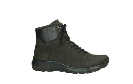 wolky lace up boots 03026 ambient 11305 dark brown nubuck_2