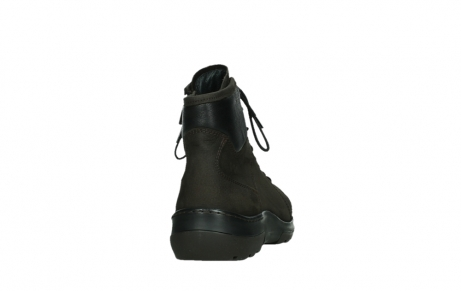 wolky lace up boots 03026 ambient 11305 dark brown nubuck_20
