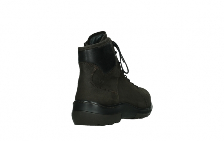 wolky lace up boots 03026 ambient 11305 dark brown nubuck_21