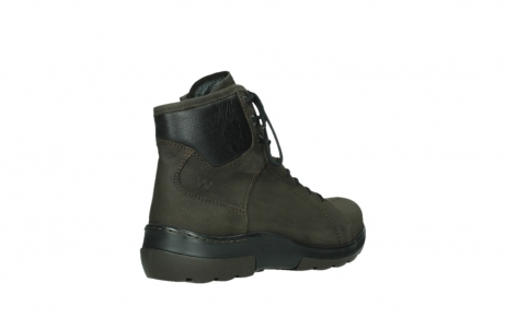 wolky lace up boots 03026 ambient 11305 dark brown nubuck_22