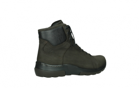 wolky lace up boots 03026 ambient 11305 dark brown nubuck_23