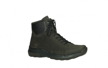 wolky lace up boots 03026 ambient 11305 dark brown nubuck_3