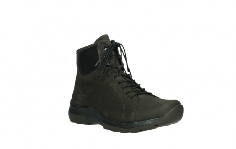 wolky lace up boots 03026 ambient 11305 dark brown nubuck_4