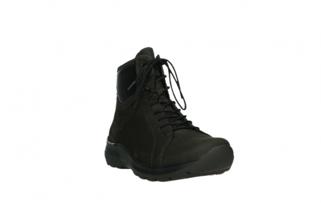 wolky lace up boots 03026 ambient 11305 dark brown nubuck_5