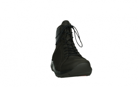 wolky lace up boots 03026 ambient 11305 dark brown nubuck_6