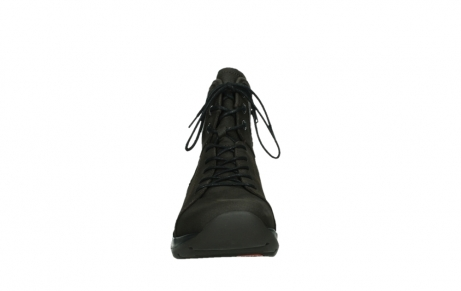 wolky lace up boots 03026 ambient 11305 dark brown nubuck_7