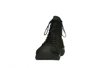 wolky lace up boots 03026 ambient 11305 dark brown nubuck_8