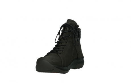 wolky lace up boots 03026 ambient 11305 dark brown nubuck_9
