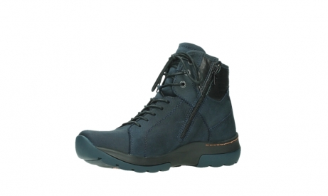 wolky lace up boots 03026 ambient 11801 blue nubuck_11